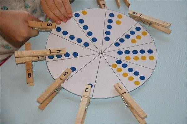 Chasing Cheerios: Number Wheel Activity