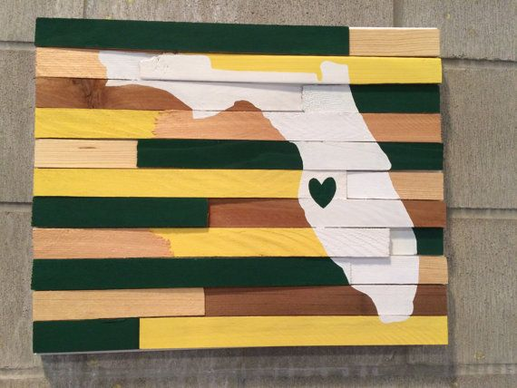 College Wall Hanging University of South Florida by ShopNobleNest
