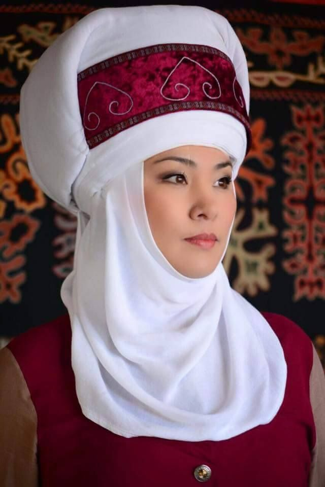 Kyrgyz woman.