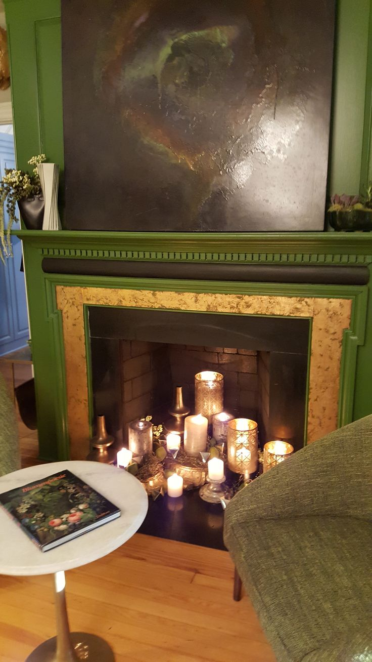 See if you can find this warm and inviting fireplace when you tour the RSOL Designer House! Hint: it is in the room designed by William T. Chambers of  U-Fab. Visit www.rsol.org for info and tickets. #RSOL201DH