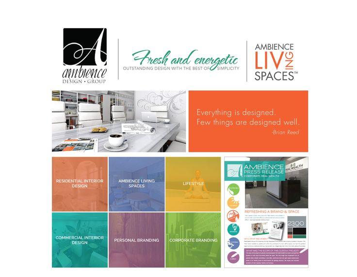 Ambience Design Group Branding + Website Design