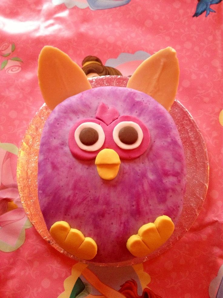 Furby cake!!
