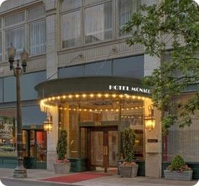 Hotel Monaco in Portland honeymoon