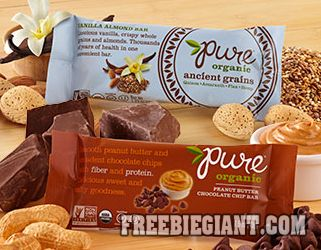 Free Pure Organic Bar-Mailed Coupon - http://freebiegiant.com/free-pure-organic-bar-mailed-coupon/ You can get a free Pure Organic Bar which will be delivered by a free product coupon in your mailbox, but you must be a US resident to get this offer.  If you would like to get your free Pure Organic Bar simply click here to fill out the form. You can only request one Pure Organic bar per...