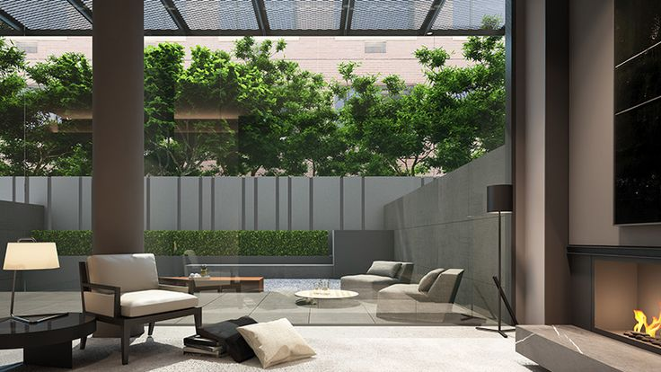 Soori High Line - Type A Unit - Terrace