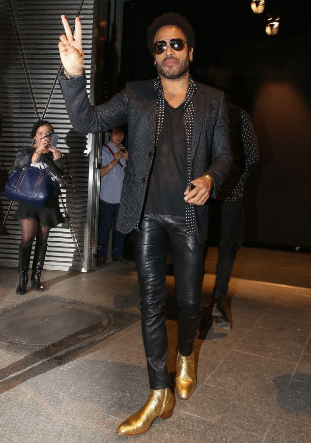 Best-Dressed Man of the Week: Lenny Kravitz