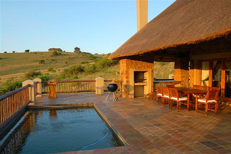 Unit 93 Doornkop Fish and Wildlife Reserve - Machadodorp, Mpumalanga  At this beautiful Self Catering Cottage zebra, giraffe and antelope roam freely. There are also catch and release trout rivers and dams around the Doornkop Fish and Wildlife Reserve, as well as magnificent hiking trails and waterfalls where you can walk amongst the wildlife.  See more on http://www.wheretostay.co.za/93doornkop/
