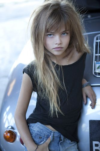 Thylane Blondeau. This image is one of the things that will haunt me. She's 10!!!?@#