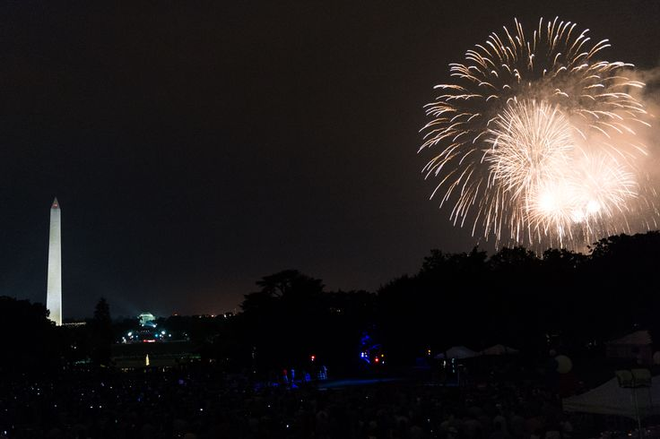 Independence Day on the South Lawn