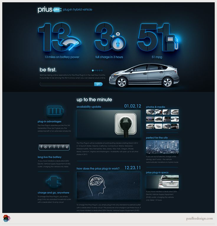Prius - Paul Lee Design