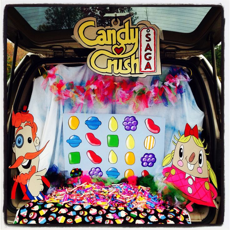 27 best Trunk or treat images on Pinterest Halloween decorating - trunk halloween decorating ideas