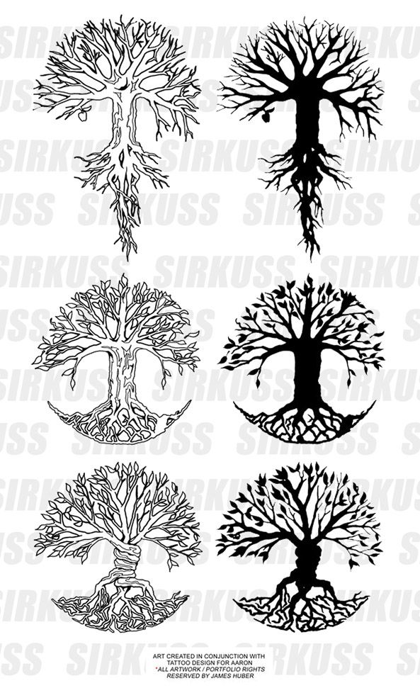Tree of Life - love this idea for a tattoo