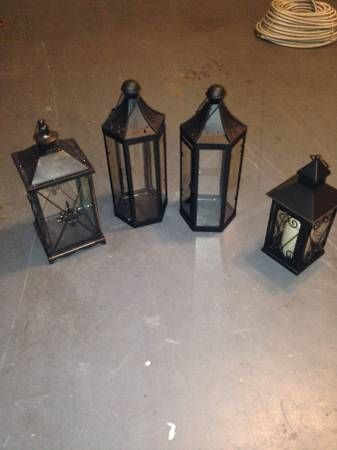 12 best used wedding decorations images on pinterest wedding decor decorative lanterns for sale all shapes and sizes used for centerpieces for our wedding junglespirit Choice Image