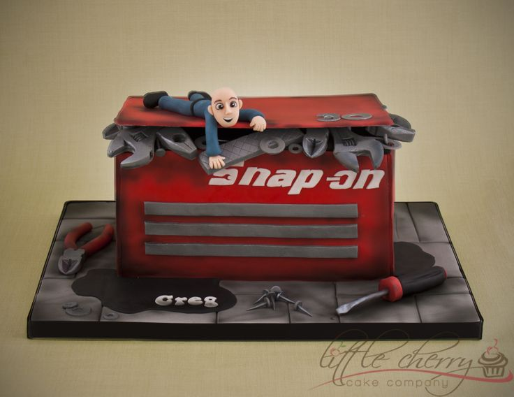 Cake Decorating Equipment Box : 25+ Best Ideas about Tool Box Cake on Pinterest Tool ...