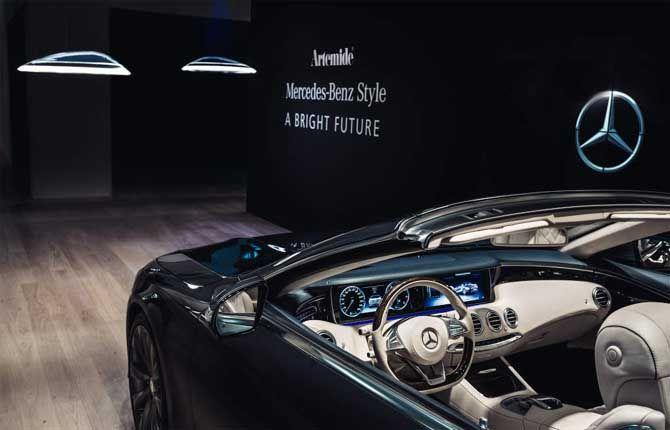 "Via Repubblica Motori on Twitter @rep_motori   Mercedes-Benz e Artemide illuminano ""Milano Design Week"""