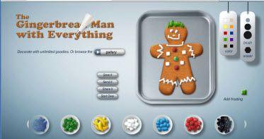 gingerbread man (smartboard activities)