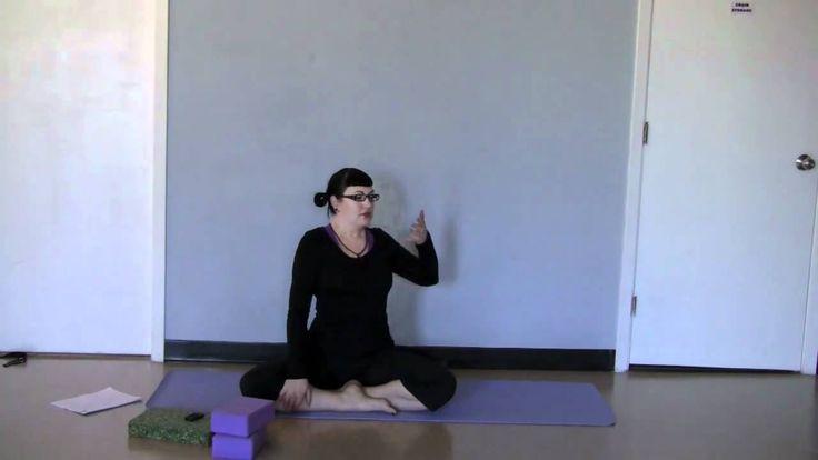 Parivrtta Sukhasana ~ Easy Twist