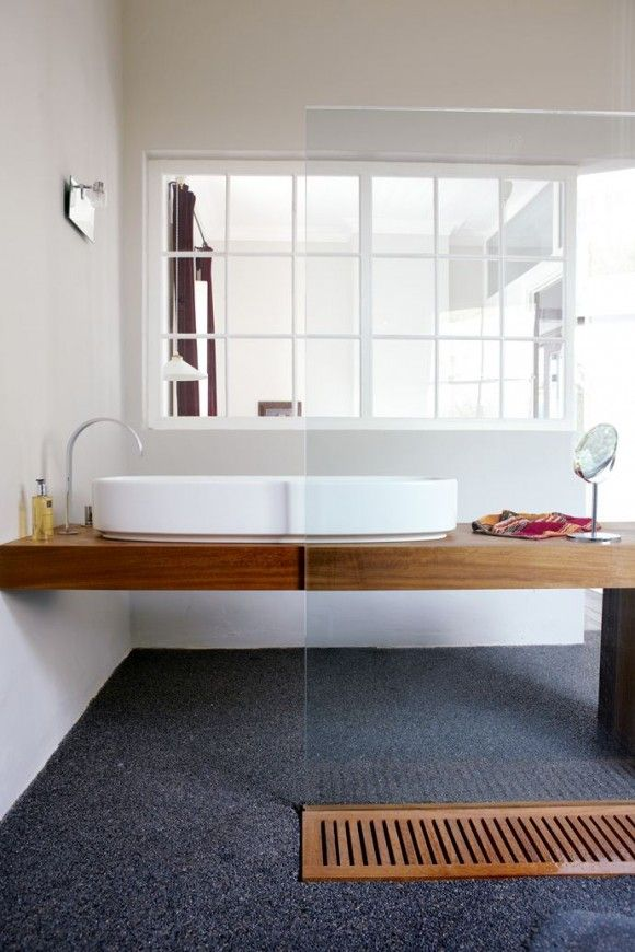 Love The Layout Of This Bathroom  Plus The Interesting Drain Being Used. |.  Dachgeschoss ...
