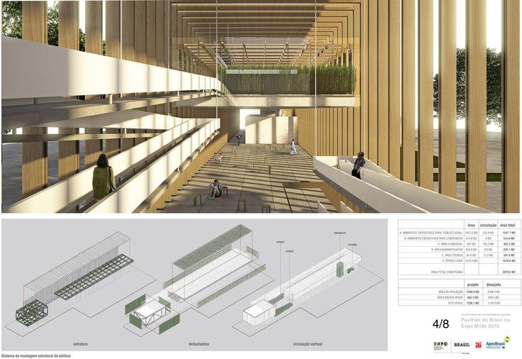 Galeria de Resultados do concurso para o Pavilhão do Brasil na Expo Milão 2015 - 21