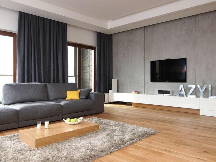 Die besten 25+ Graue wohnzimmer Ideen auf Pinterest - wohnzimmer ideen schwarz weiss grau