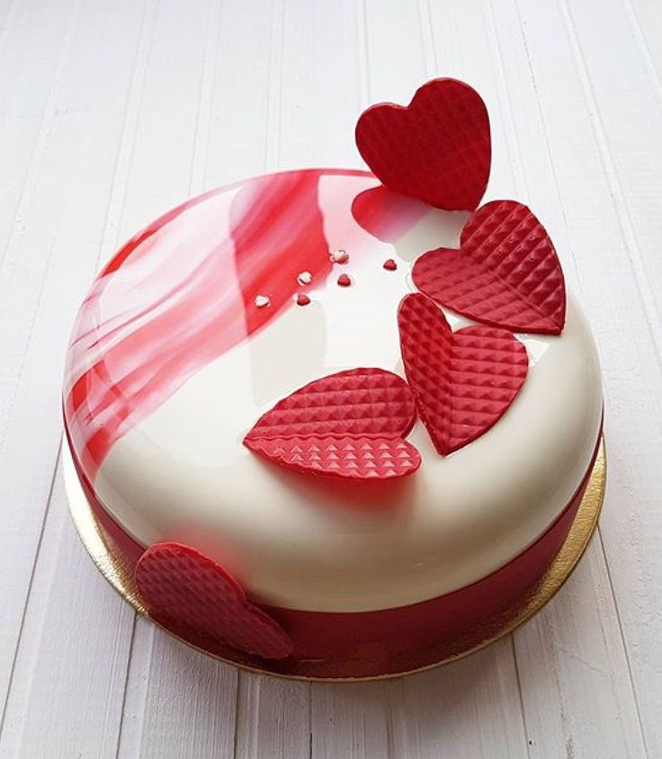 146 Best Images About Mirror Cakes On Pinterest