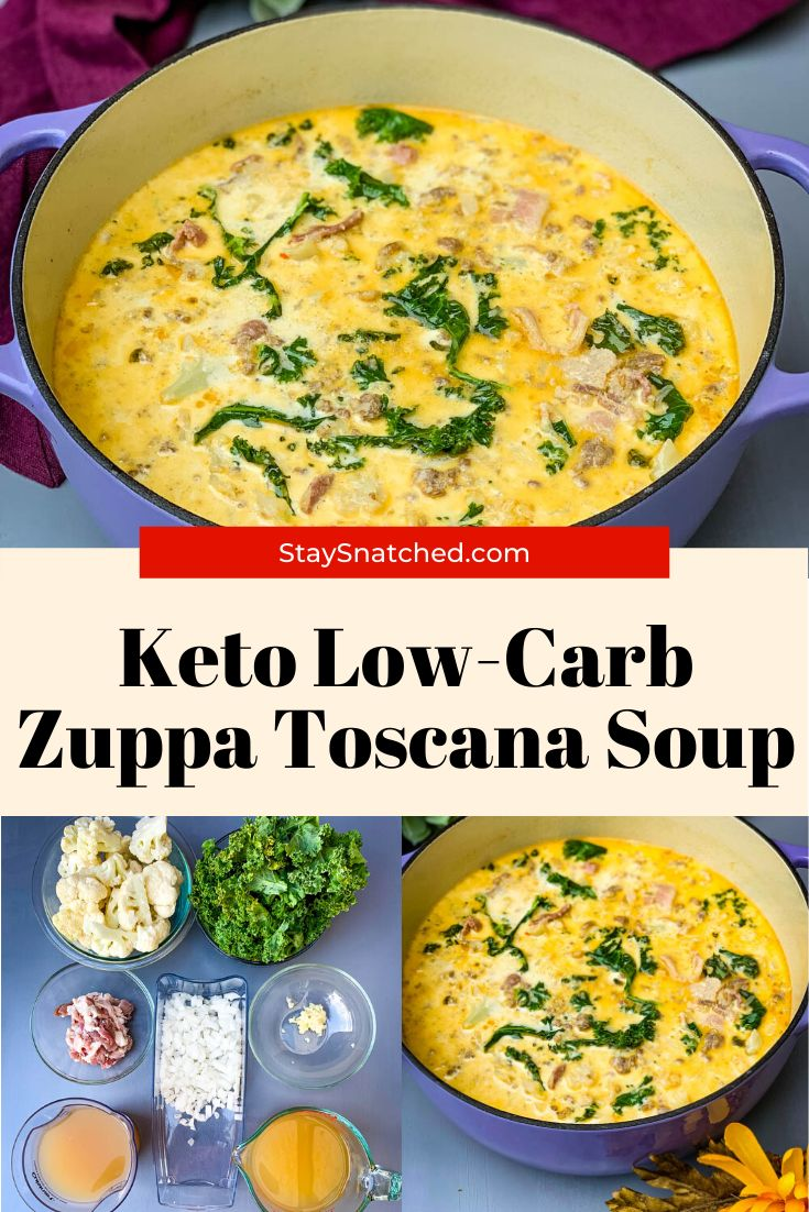 Easy, Keto LowCarb Zuppa Toscana Soup is the best Olive