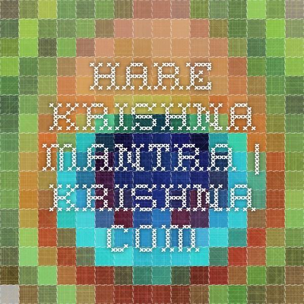 Hare Krishna Mantra   Krishna.com
