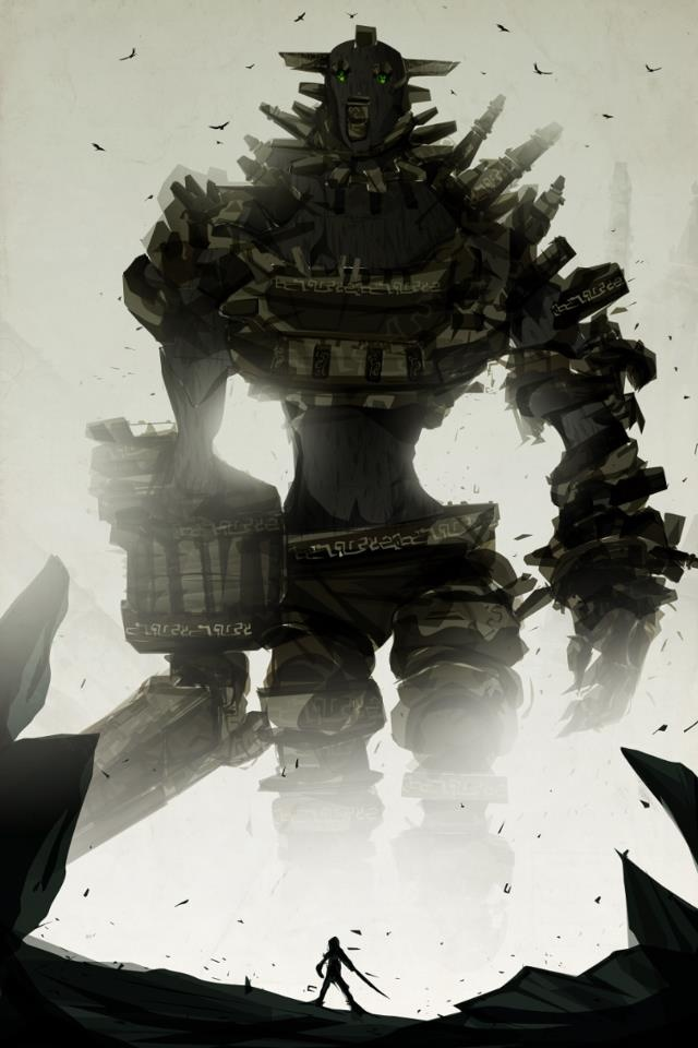 Shadow of the Colossus | Monster, Aliens, Giants | Pinterest
