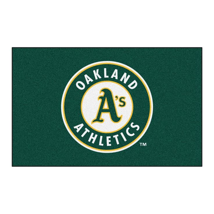 Oakland Athletics MLB Ulti-Mat Floor Mat (5x8')