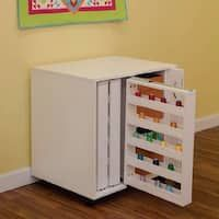 Arrow Mod Squad Model 2031 Modular Thread Storage Cabinet - White