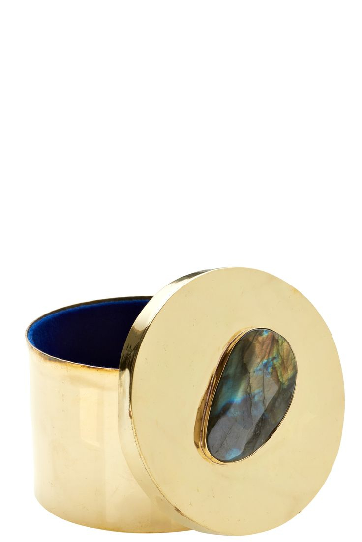 Discover perfect holiday gifts, like this Labradorite Embellished Jewelry Box