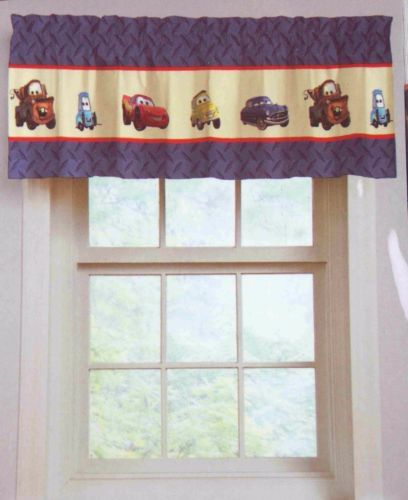 Lot 2 Disney Pixar Cars Window Valance Topper Kids Room Mater Lightning  McQueen. 25  best ideas about Disney Cars Bedroom on Pinterest   Disney