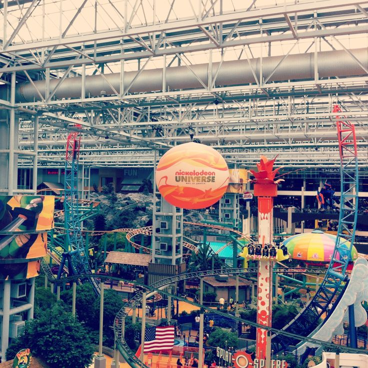 The Mall of America is pretty fucking awesome.