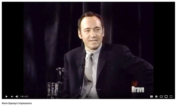 Kevin Spacey's Impressions