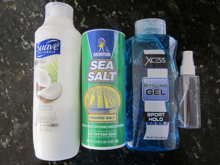 Homemade Sea Salt Texturinzing hair spray. | Blue Cricket Design