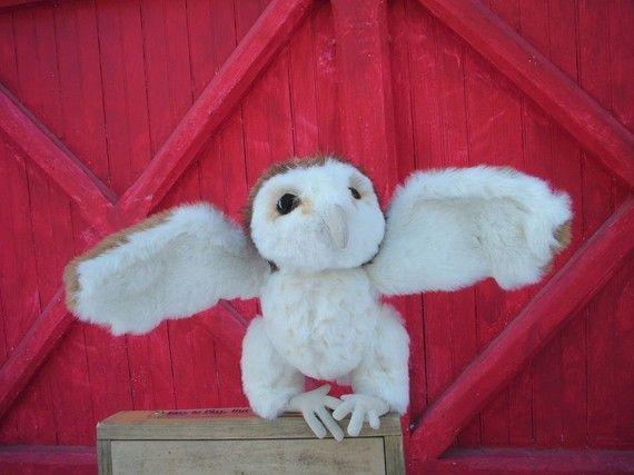 Hoot  Barn owl sewing pattern PDF by jennifercarson on Etsy, $8.00