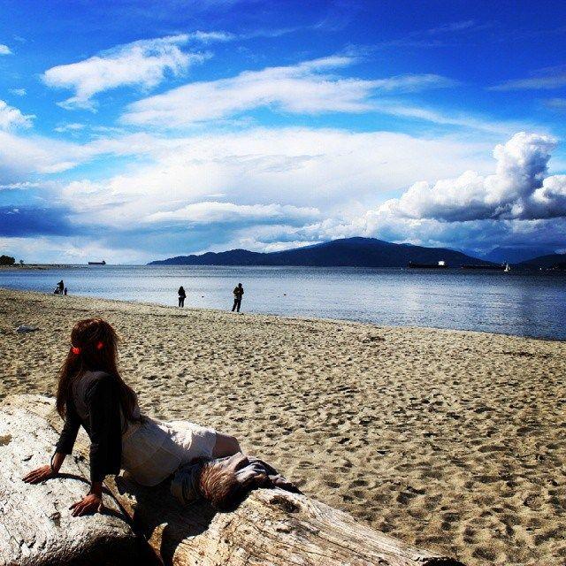 Spanish Banks Beach #nomadiclove
