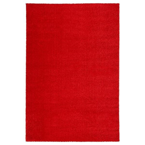 Langsted Tapis Poils Ras Rouge Langsted Tapis Poils Ras Rouge Ikea Tapis Ikea Tapis Antiderapant