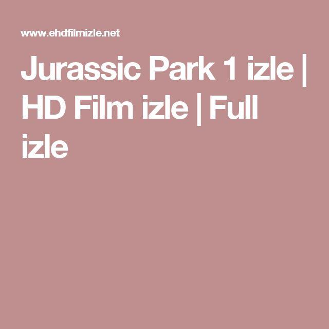 Jurassic Park 1 izle | HD Film izle | Full izle