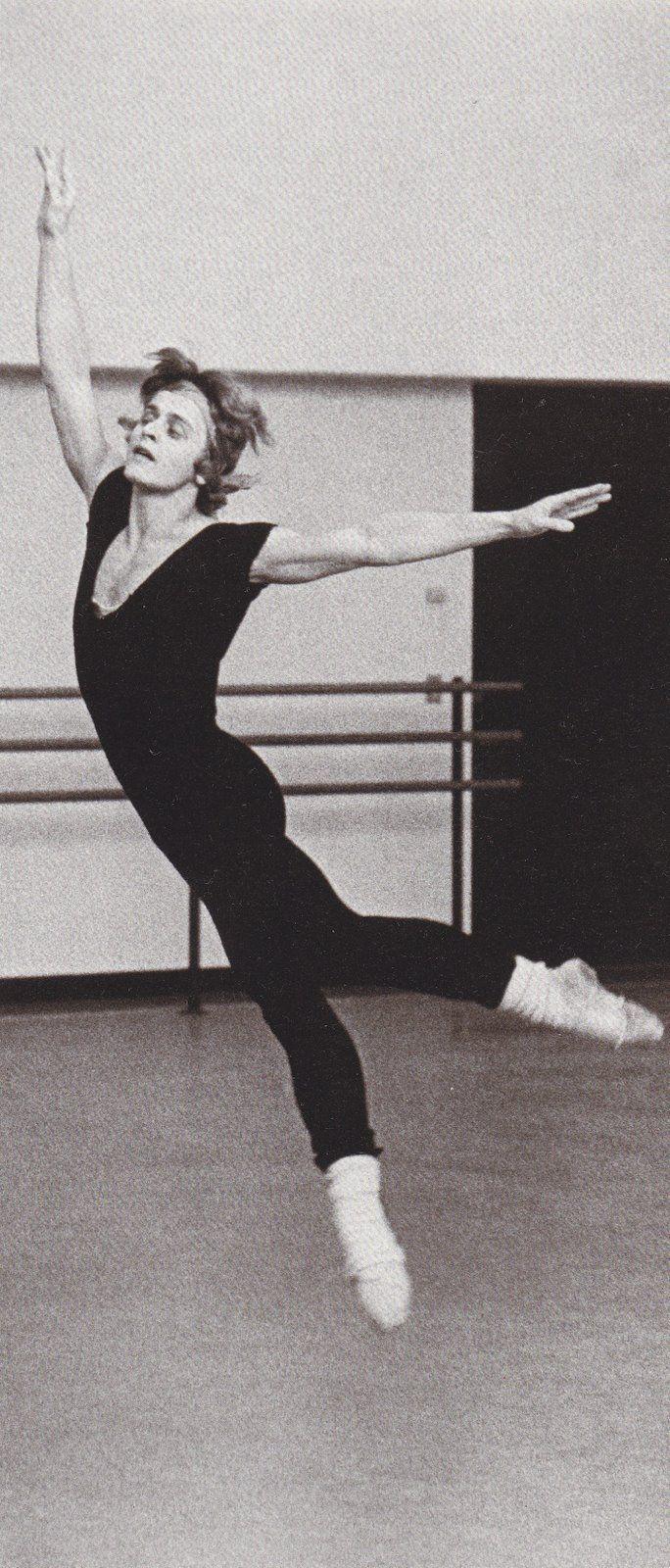 Mikhail Baryshnikov rehearsing 'Other Dances', 1976