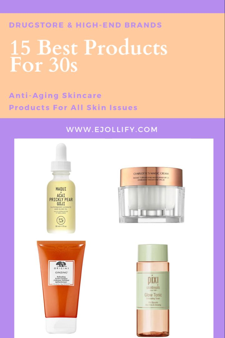 Best Skincare Products For 30s Anti Aging For Aging Skin In 2020 Anti Aging Skincare Routine Good Skin Best Skincare Products
