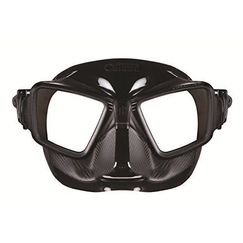 """Omer Zero Cubed Dive Mask - Black by Omer. Omer Zero Cubed Dive Mask - Black. 6.5"""" x 4.5"""" x 2.75""""."""