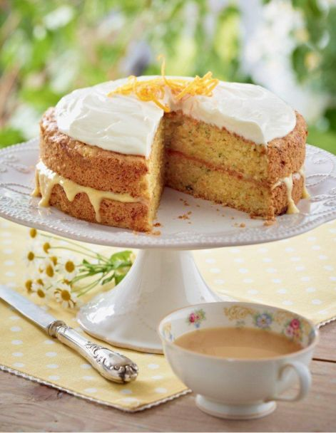 Courgette recipes - LandScape magazine - Cor blimey! Courgette in a cake!?