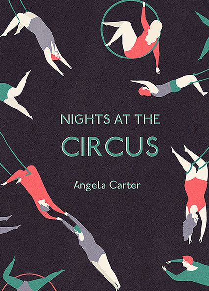 Nights at the Circus by Angela Cater, cover illustration by Naomi Wilkinson
