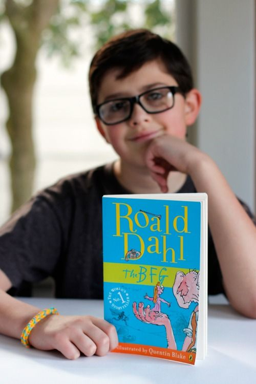 Book Review: The BFG by Roald Dahl - Make and Takes #bookreview #BFG #roalddahl