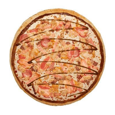 All da Meat Pizza.  All the meat there is to eat - on one pizza!  GET IT HERE.