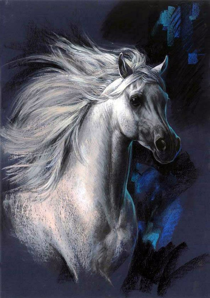 Horse ... Artist Zorina Baldescu .. Discussion on LiveInternet - Russian Service Online diary