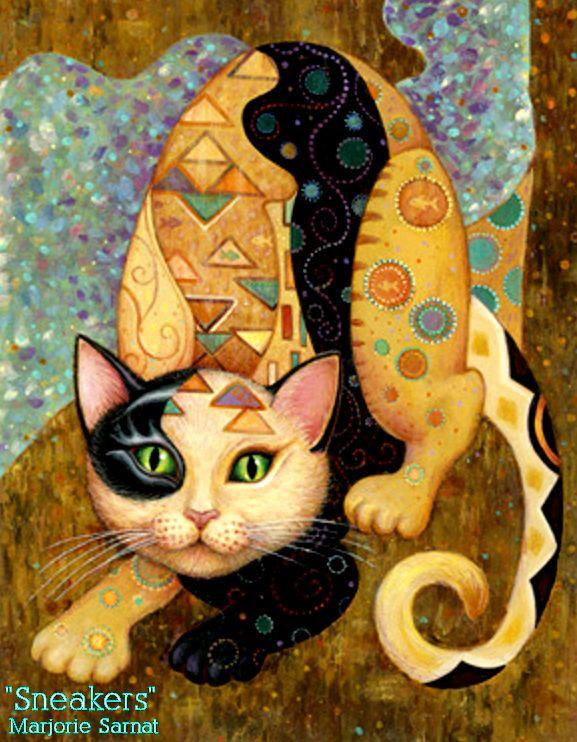 Marjorie Sarnat's Kleo Kats are most definitely all things Jellicle