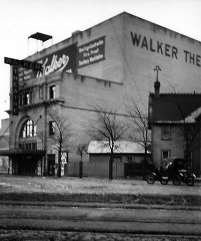 Walker Theatre in Winnipeg where Donna and Chin Chin Played in 1920. Photo is from 1911. Courtesy Virtual Heritage Winnipeg.