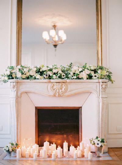 Candlelit inspiration: http://www.stylemepretty.com/little-black-book-blog/2015/03/24/organic-elegant-paris-wedding-inspiration/   Photography: Le Secret D'Audrey - http://www.lesecretdaudrey.com/